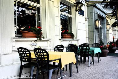Cafe, Interlaken, Switzerland