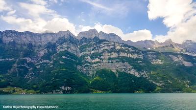 Lake, Swiss Alps