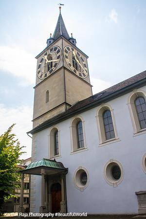 St. Peter Church, Zurich, Switzerland