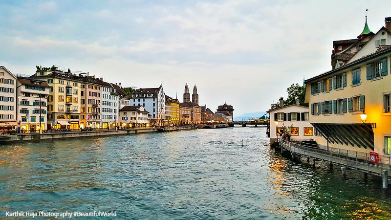 Limmat, Zurich, Switzerland