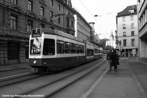 Walking together, Zurich, Switzerland