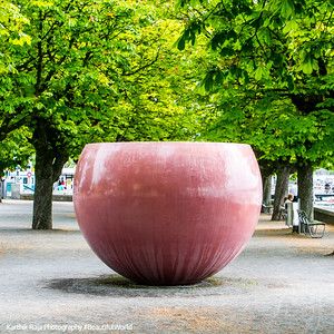 Water fountain, Art, Zurich, Switzerland