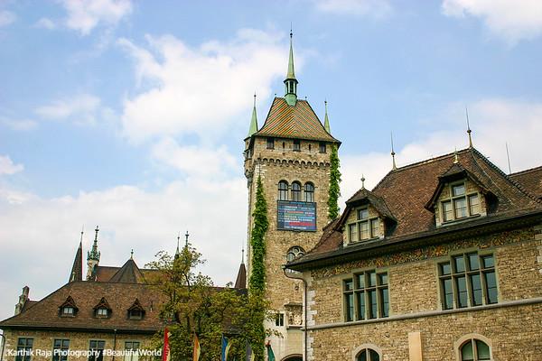 Musee Suisse - Swiss National Museum, Zurich, Switzerland