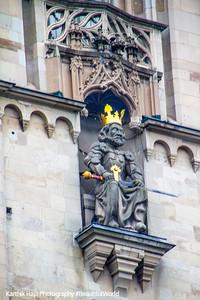 Charlemagne, Grossmunster Church, Karlsturm, Zurich, Switzerland