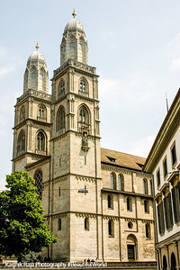 Grossmunster Church, Zurich, Switzerland