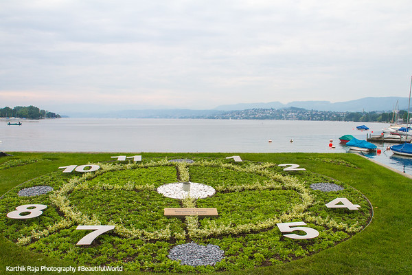 Clock, Zurich, Switzerland