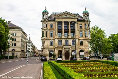 Burkliplatz, Zurich, Switzerland