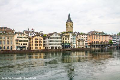 St. Peter on the Limmat, Zurich, Switzerland
