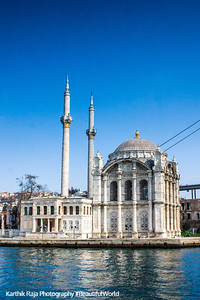 Bosphorus, Ortaköy Mosque, Istanbul, Turkey