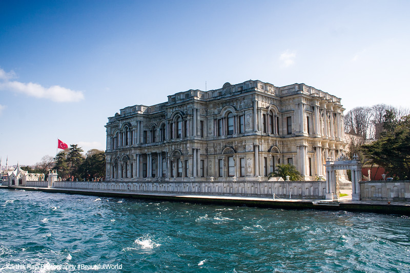 Bosphorus, Beylerbeyi Palace, Istanbul, Turkey