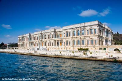 Bosphorus, Ciragan Palace, Istanbul, Turkey
