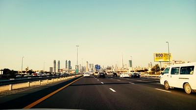 Dubai driving