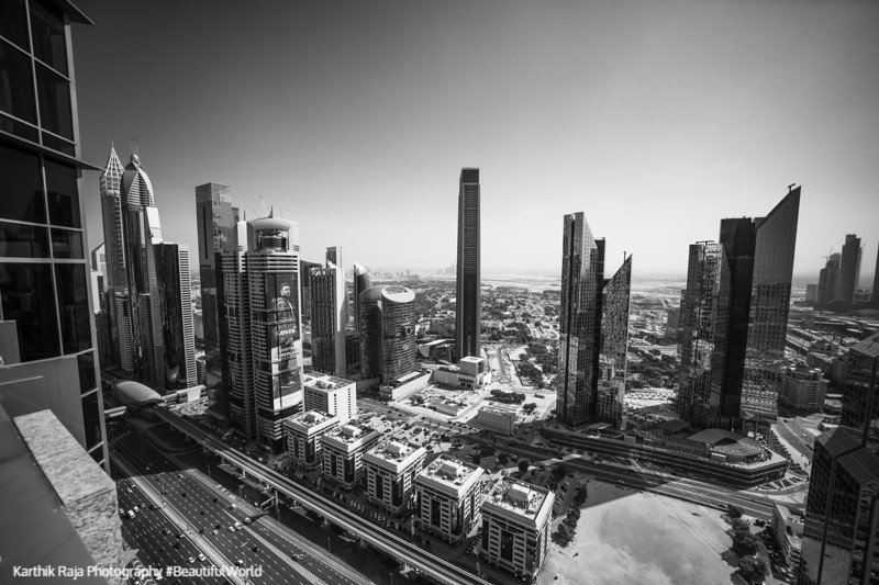 Sheikh Zayed Rd buildings, Index Tower, Dubai, United Arab Emirates
