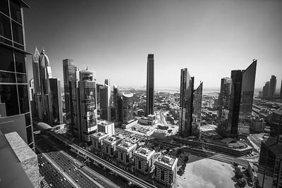 Sheikh Zayed Rd buildings, Index Tower, Dubai, United Arab Emirates