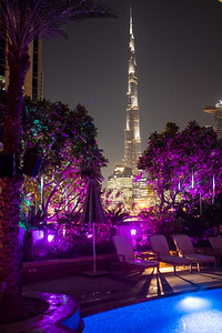 Burj at Night, Dubai, United Arab Emirates