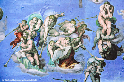 Last Judgement - Heaven or Hell?, Michelangelo, Vatican City