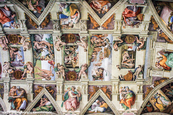 Michelangelo's greatest paintings - Sistine Chapel, Vatican City
