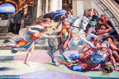 Raphael, The Expulsion of Heliodorus from the Temple, Vatican City