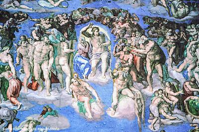 Last Judgement - Heaven or Hell?, Michelangelo, Vatican City