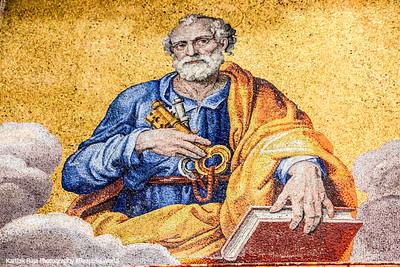 Mosaic inside St. Peter's Basilica, Vatican City