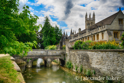 Magdalen College, Cherwell Bridge, Oxford