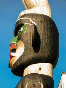 Totem Pole Albert Bay