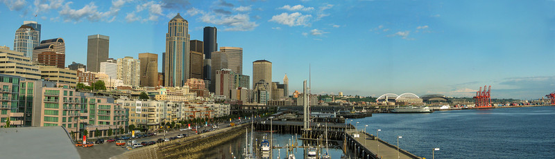 Seattle Harbour Front