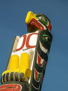 Totem Pole Albert Bay