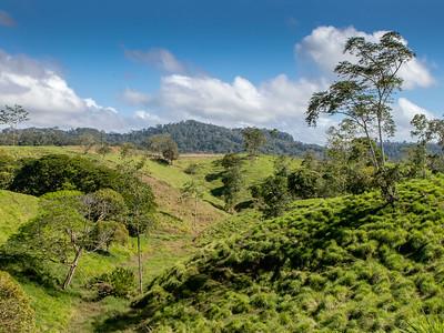 Landscape near Laguna de Lararto Lodge