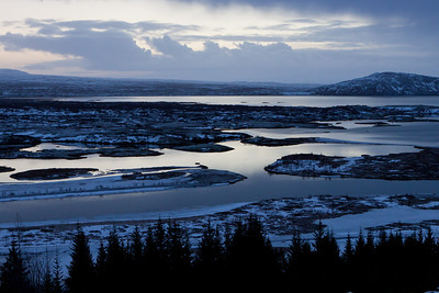 Thingvellir Lake