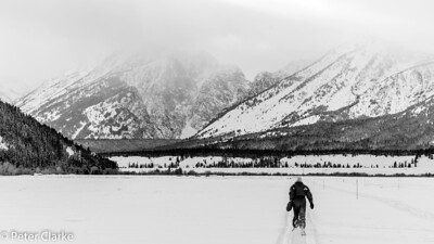 Walk in the Tetons