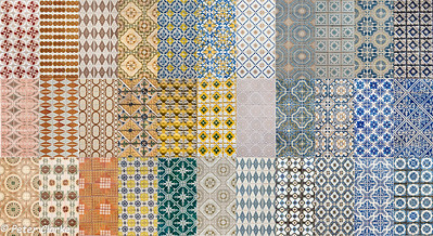 Tiles from Porto Streets