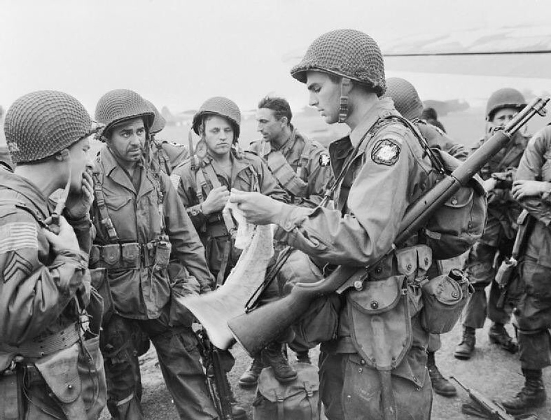 American Paratroopers readying up for Market Garden. #ww2 #ww2history #wwii #marketgarden #paratrooper #airborne