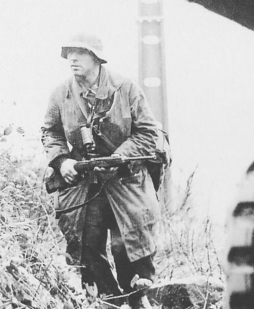German soldier with a M1 Carbine, really interesting photo. #ww2 #wwii #german #m1 #m1carbine