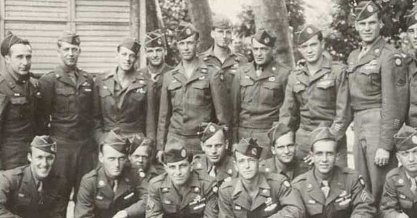82nd Airborne after the war. #ww2 #wwii #airborne