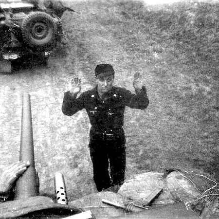 This German tank commander has had enough. 😂. #ww2 #wwii
