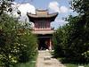 Main gate at Choijin Lama Museum.  The architecture is Manchu.