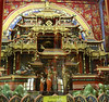 Model of the Maitreya Pure Land.