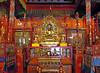 The main altar inside the temple at Choijin Lama Museum.
