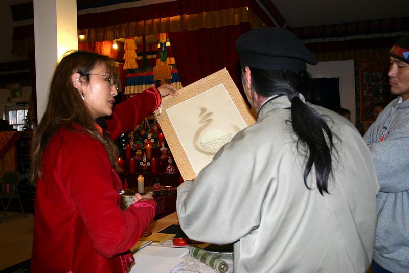 SD-317-0040 Mongolian calligrapher