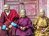 Cho Lama, our guide in Arkhangai, and friends