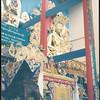 H.H. Dalai lama at Inaugural Ceremonies for the Golden Temple. © Palyul.Ling
