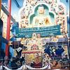 H.H. Dalai Lama at the Inaugural Ceremonies for the Golden Temple. © Palyul.Ling
