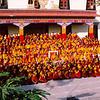 Monks outside Golden Temple. © Palyul.Ling
