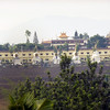 Wide shot of Palyul Namdroling and Stupas - by Mannie Garcia