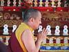 PG-1-3660 Khenchen Tsewang Gyatso during Guru Yoga practice, by Pema Gyaltsen