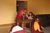 YD-20-0009 Jetsunma greeting Khenchen, by Yeshe Dorje
