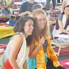 L-R Tara & Kelly and other Sangha