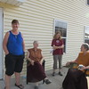 Lynn , Ani Samten, Shelley and Ani Atara