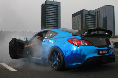 Hyundai Genesis Drift Machine